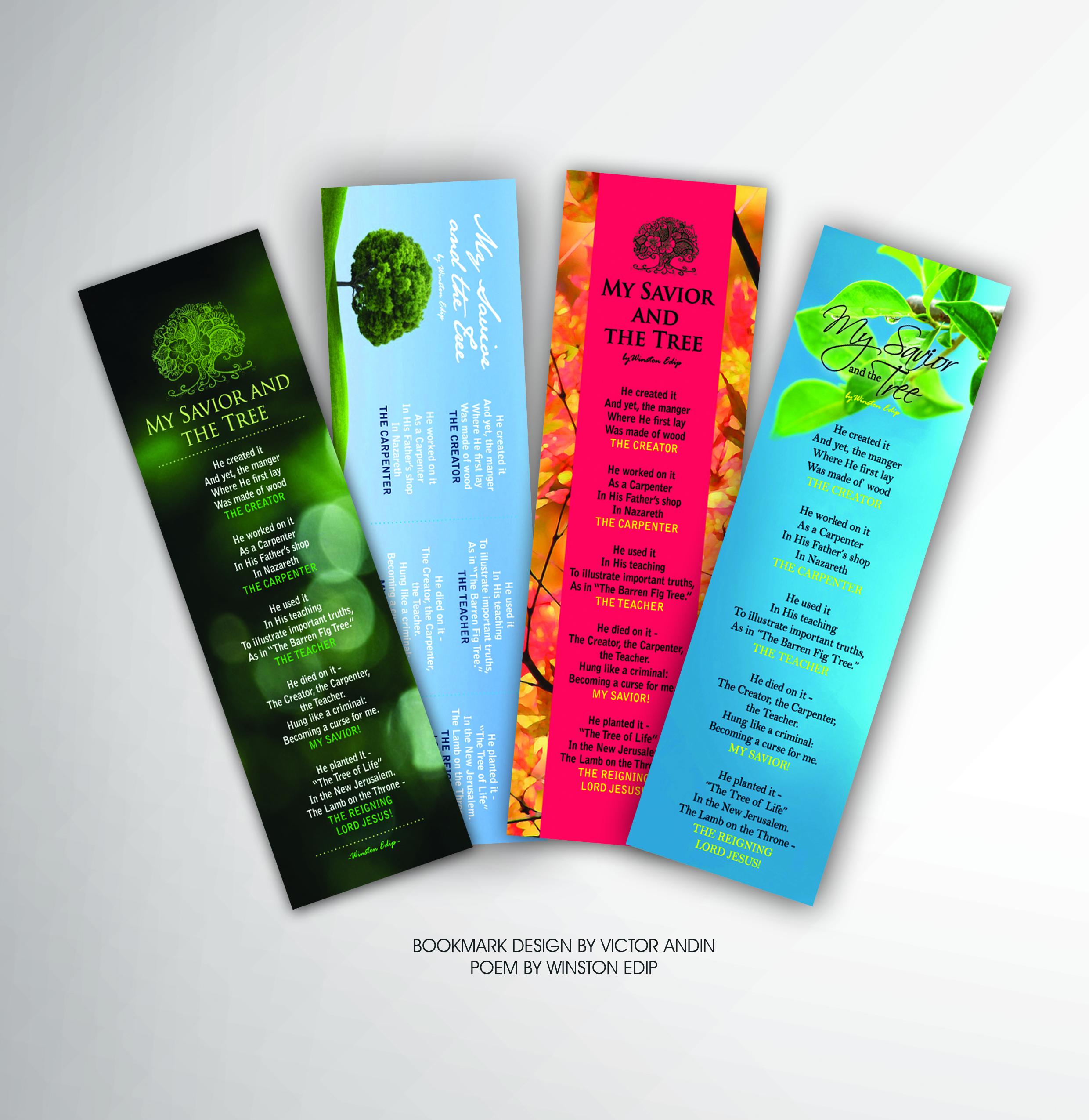 Bookmark Design | victor andin design